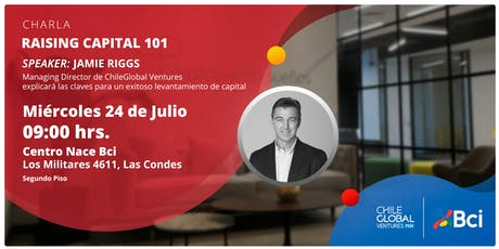 Aprende a levantar capital con el ex VP de Silicon Valley Bank tickets