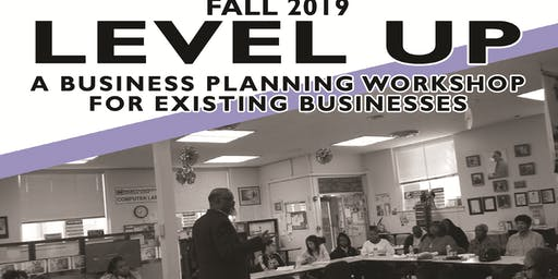 Level Up! A Free Business Planning Workshop