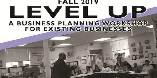 Level Up! A Free Business Planning Workshop