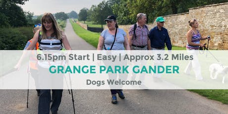 GRANGE PARK GANDER | APPROX 3.2 MILES | EASY | NORTHANTS tickets