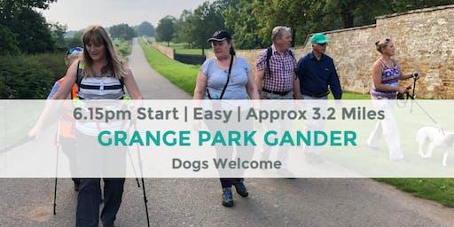 GRANGE PARK GANDER | APPROX 3.2 MILES | EASY | NORTHANTS