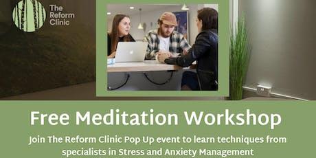 Yoga and Meditation Workshop  tickets