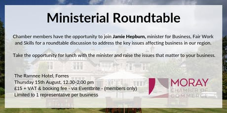 Ministerial Roundtable tickets