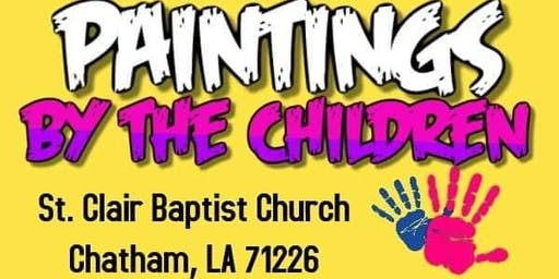 St. Clair Baptist Church Hosts Paintings by Children with Artist Frank Kelley, Jr.