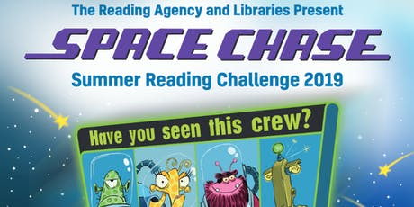 Space Chase! The summer reading challenge begins! tickets