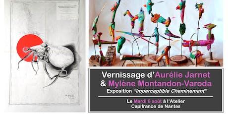 Vernissage d'Aurélie Jarnet & Mylène Montandon-Varoda billets