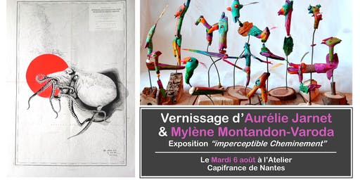 Vernissage d'Aurélie Jarnet & Mylène Montandon-Varoda