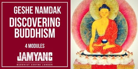 Discovering Buddhism - 4 modules with assessment tickets