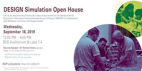 DESIGN Simulation Open House tickets