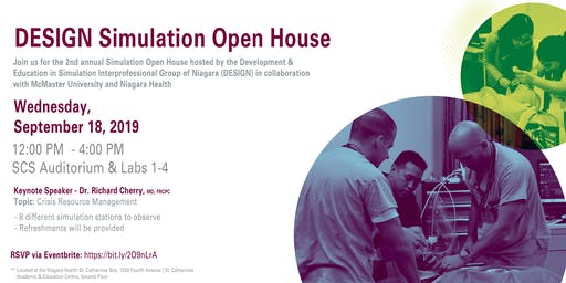 DESIGN Simulation Open House