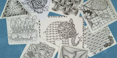 Zentangle - Beyond the Basics (Step 2) - Two Hour ***** Workshop