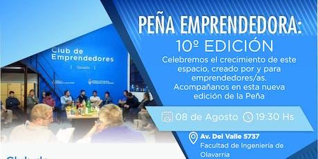 10º Peña Emprendedora - Club de Emprendedores Olavarría entradas