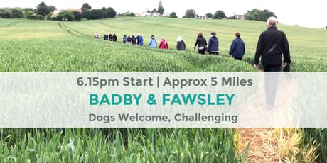 BADBY AND FAWSLEY CHALLENGE | NORTHANTS WALK | STRENUOUS WALK tickets