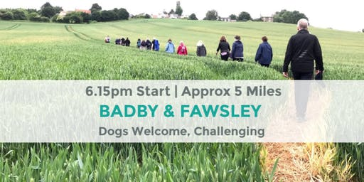 BADBY AND FAWSLEY CHALLENGE | NORTHANTS WALK | STRENUOUS WALK