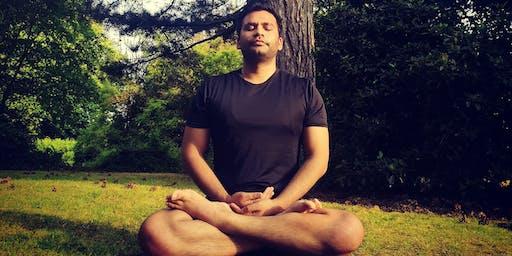 Hatha Yoga Practice In Cassiobury Park