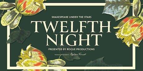 Shakespeare Under the Stars: Twelfth Night tickets