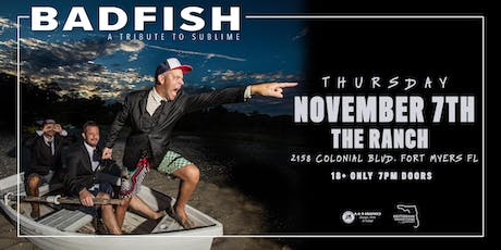 "BADFISH ""A Tribute to Sublime"" - Ft. Myers tickets"