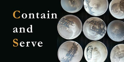 'Contain and Serve', an Evening of Cuisine, Calligraphy, and Ceramics