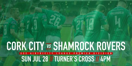 Cork City FC v Shamrock Rovers FC tickets