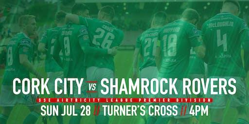 Cork City FC v Shamrock Rovers FC