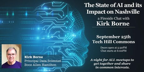 The State of AI & its Impact on Nashville: A Fireside Chat with Kirk Borne tickets