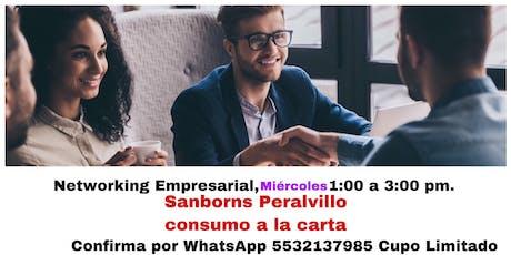 Comida Networking Empresarial boletos