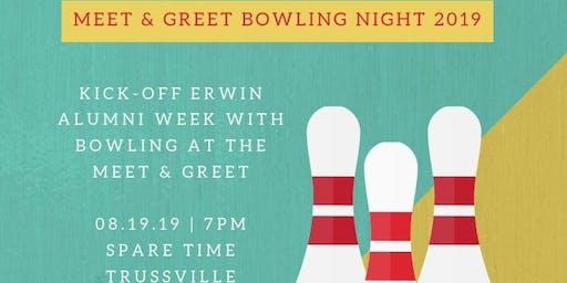 Erwin/Center Point Alumni Bowling Night Meet & Greet