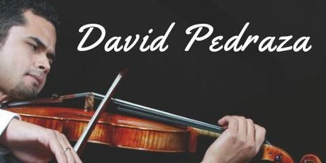 Celebrate Hispanic Heritage with David Pedraza tickets