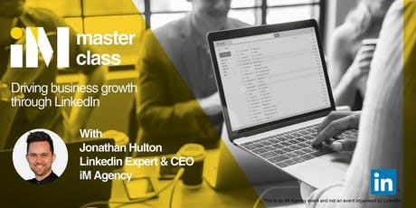 LinkedIn Masterclass - Manchester PM tickets