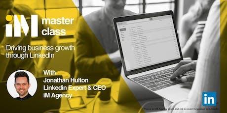 LinkedIn Masterclass - London PM tickets