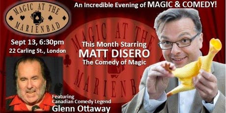 Magic at the Marienbad tickets