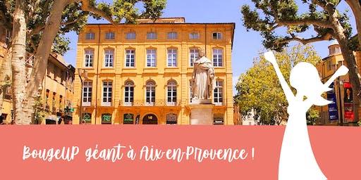 BougeUP géant à Aix en Provence, le réseau business féminin