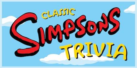 Classic Simpsons Trivia tickets