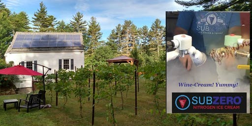 Averill House Vineyard Second Wine-Versary with SUBZERO Icecream