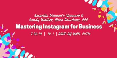 Mastering Instagram for Business tickets