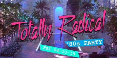 Totally Radical '80s party