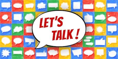 Let's Talk • Conversação em Inglês ingressos