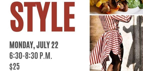 Sip and Style tickets