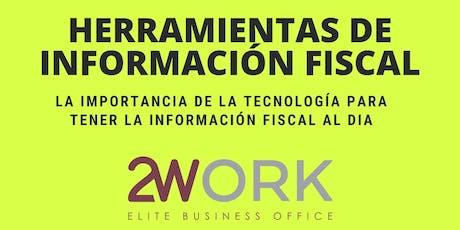 Herraientas de Información Fiscal entradas