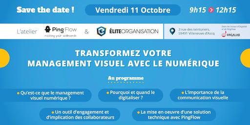 Atelier PingFlow / Elite Organisation : TRANSFORMEZ VOTRE MANAGEMENT VISUEL