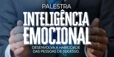 SÃO JOSÉ DOS CAMPOS/SP] Palestra Inteligência Emocional - 25/07 ingressos