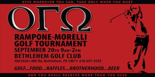OGO Rampone-Morelli Golf Tournament