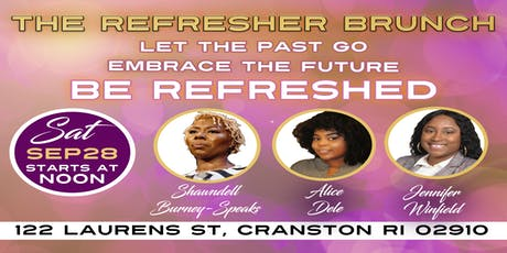The Refresher Brunch tickets