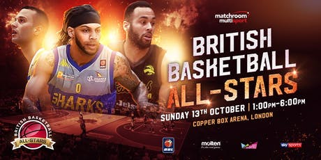 Leicester Riders BBL All-Stars Championship 2019 - Tickets and Travel tickets
