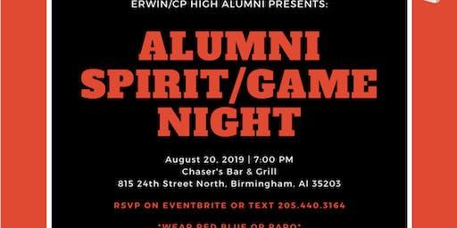 Erwin/Center Point Alumni Game/Spirit Night