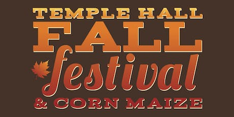 2019 Temple Hall Fall Festival tickets