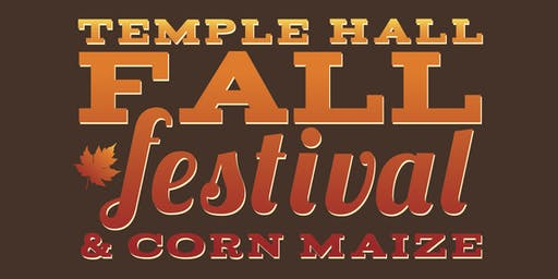 2019 Temple Hall Fall Festival