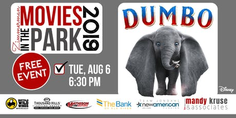 Movies in the Park: Dumbo tickets