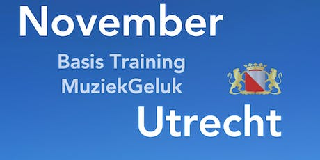 November MuziekGeluk Training - V&V geaccrediteerd met 5 punten tickets