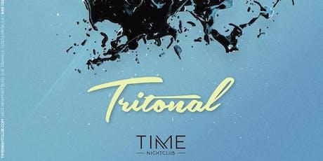 Tritonal Free Guest List at Time Nightclub  tickets